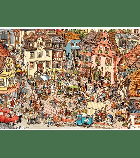 Puzzle 1000 Pcs - Market Place Heye