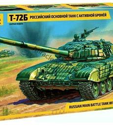 ZVEZDA Russian Main Battle Tank with era T-72B
