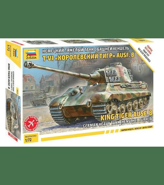 ZVEZDA King tiger AUSF.B German Heavy Tank (Henshel Turret)