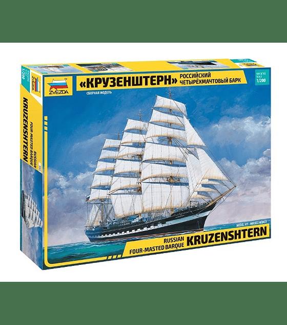 ZVEZDA Russian Four-Masted Barque KRUZENSHTERN