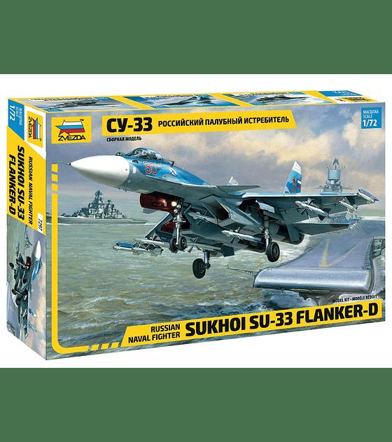 ZVEZDA Russian Naval Fighter SUKHOI SU-33 Flanker-D
