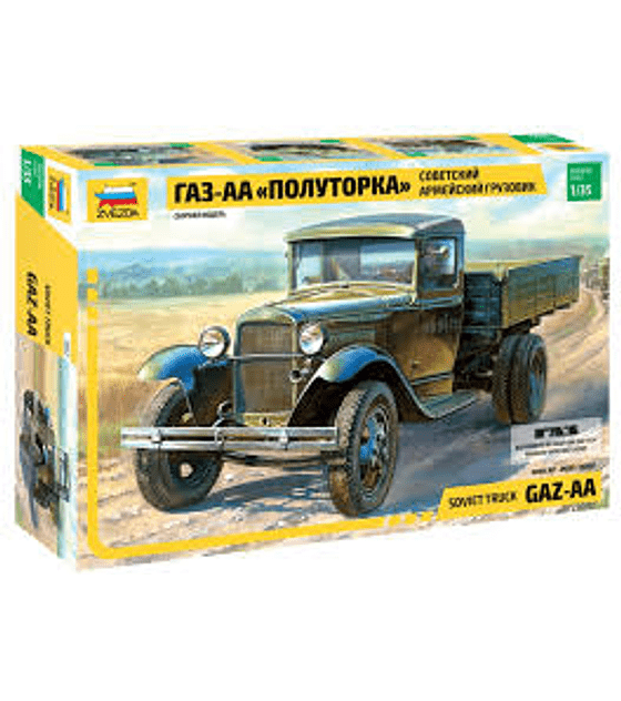 ZVEZDA Soviet Truck GAZ-AA
