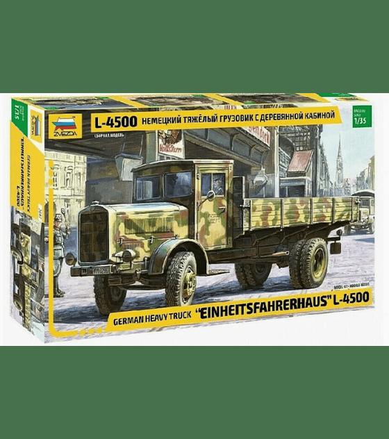 """ZVEZDA German Heavy Truck """"EINHEITSFAHRERHAUS"""" L-4500"""