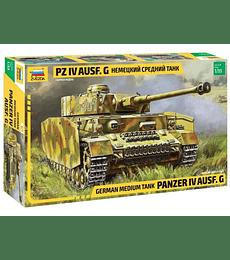 ZVEZDA German Medium Tank Panzer IV Ausf.G
