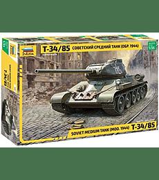 ZVEZDA Soviet Medium Tank (MOD. 1944) T-34/85