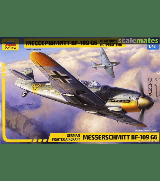 ZVEZDA Messerschmitt Bf-109 G6