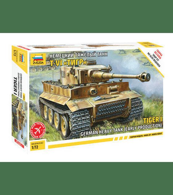 ZVEZDA German Heavy Tank Early Production Tiger I