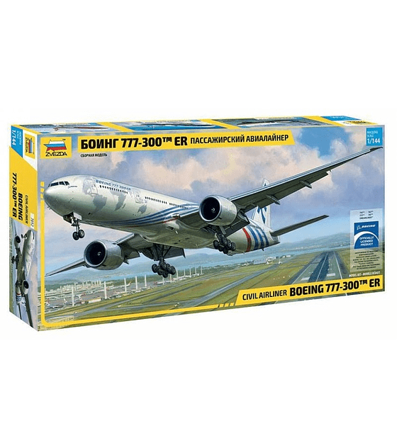 ZVEZDA Civil Airliner Boeing 777-300ER