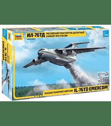 ZVEZDA Russian Transport Airplane IL-76 TD Emercom
