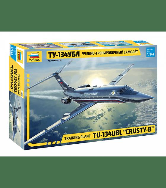"ZVEZDA Training Plane TU-134UBL ""Crusty-B"""