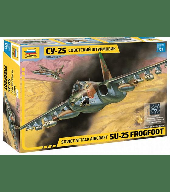 ZVEZDA Soviet Attack Aircraft SU-25 Frogfoot