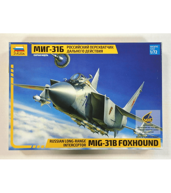ZVEZDA Russian Long-Range Interceptor MIG-31B Foxhound