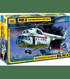 ZVEZDA Russian Rescue Helicopter MIL Mi-8