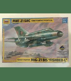 "ZVEZDA Soviet Fighter MIG-21 BIS ""Fishbed-L"""