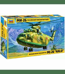 "ZVEZDA Russian Heavy Helicopter MI-26 ""HALO"""