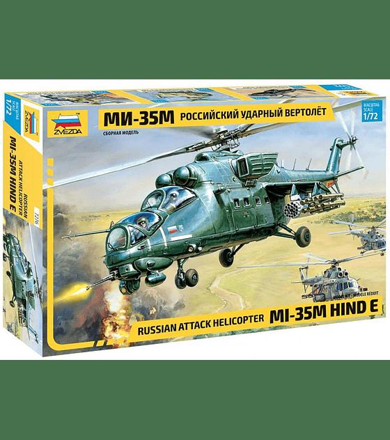 ZVEZDA Russian Attack Helicopter MI-35 Hind E