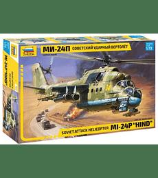 "ZVEZDA Soviet Attack Helicopter MI-24P ""Hind"""