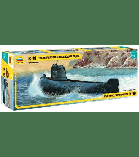 ZVEZDA Soviet Nuclear Submarine K-19