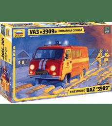 ZVEZDA Fire Service UAZ 3909