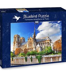 Puzzle 1000 Pcs - Cathédrale Notre-Dame de Paris Bluebird
