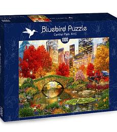 Puzzle 1000 Pcs - Central Park NYC Bluebird