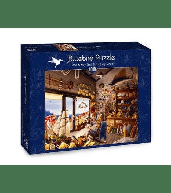 Puzzle 1000 Pcs - Joe & Roy Bait & Fishing Shop Bluebird