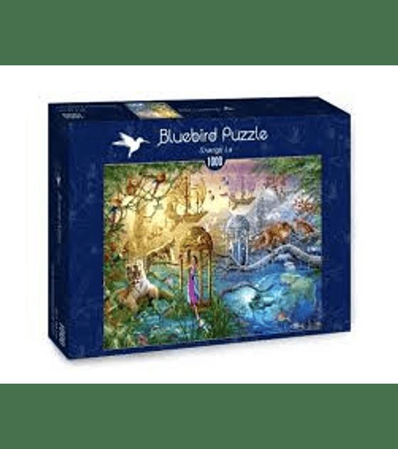 Puzzle 1000 Pcs - Shangi La Bluebird