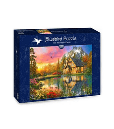 Puzzle 1000 Pcs - The Mountain Cabin Bluebird