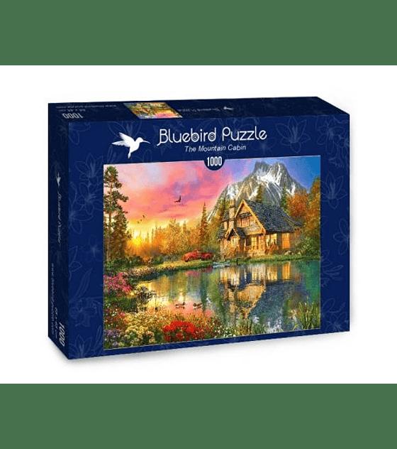 Puzzle 1000 Pcs - The Mountain Cabin Bluebird
