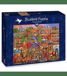 Puzzle 1000 Pcs - Arabian Street Bluebird