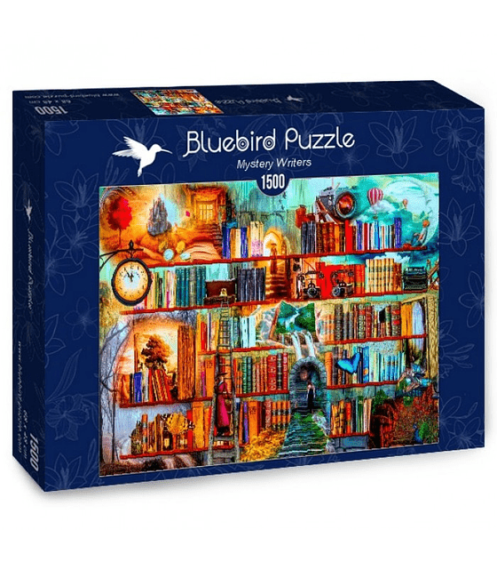 Puzzle 1500 Pcs - Mystery Writers Bluebird