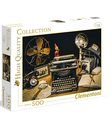 Puzzle 500 Pcs - The Typewriter Clementoni