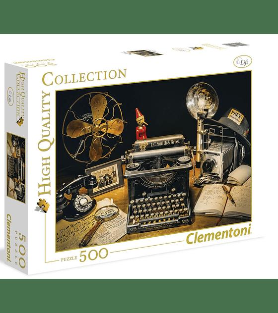 Puzzle 500 Pcs - The Typewriter Clementoni