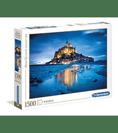 Puzzle 1500 Pcs - Le Mont Saint-Michel Clementoni