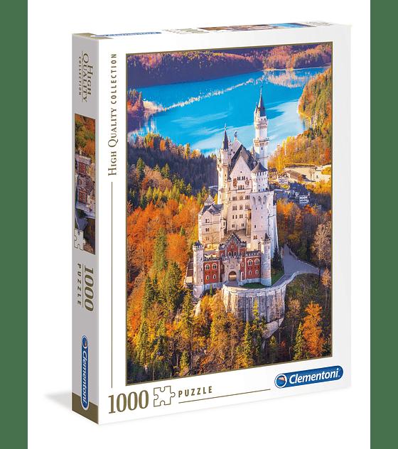 Puzzle 1000 Pcs - Neuschwanstein Clementoni