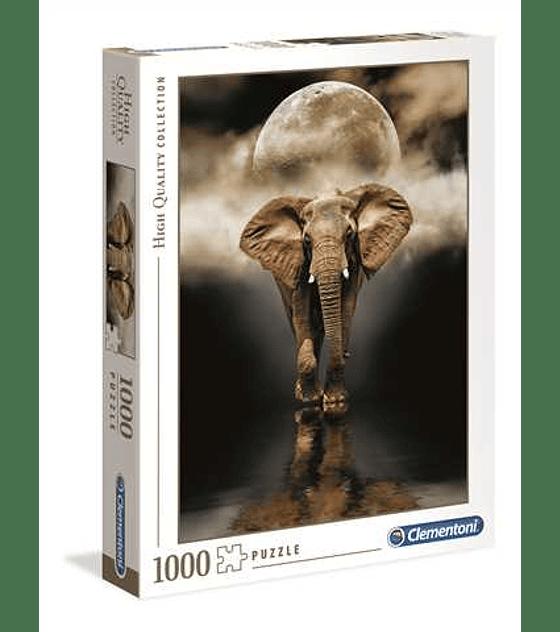 Puzzle 1000 Pcs - The Elephant Clementoni