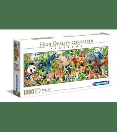 Puzzle 1000 Pcs - Wildlife Clementoni Panorama