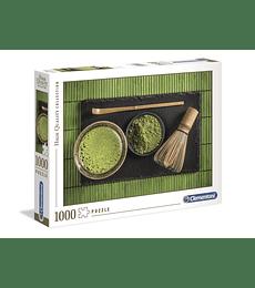 Puzzle 1000 Pcs - Matcha Tea Clementoni