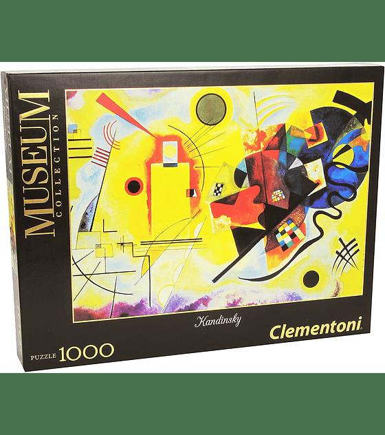 Puzzle MC 1000 Pcs - Kandinsky Yellow-Red-Blue