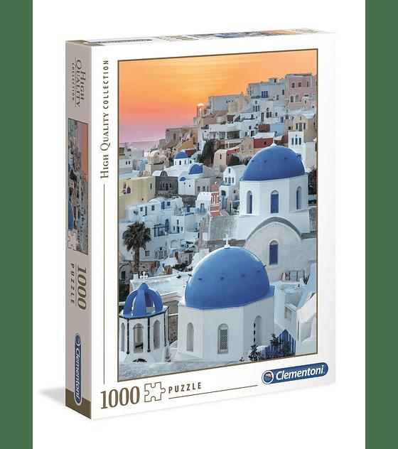 Puzzle 1000 Pcs - Santorini Clementoni