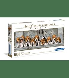 Puzzle 1000 Pcs - Beagles Clementoni Panorama