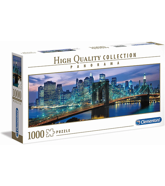 Puzzle 1000 Pcs - New York Clementoni Panorama