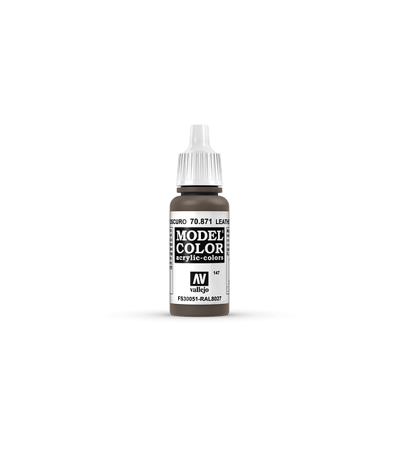 Model Color Marrón Cuero Oscuro