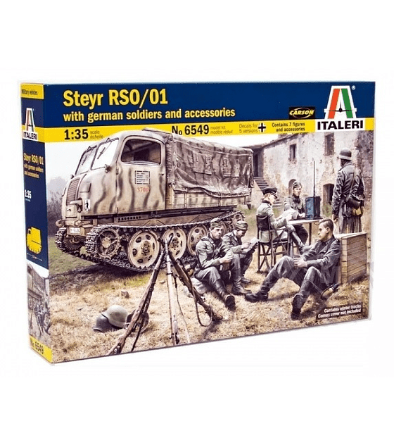 STEYR RSO/01 with GERMAN SOLDIERS