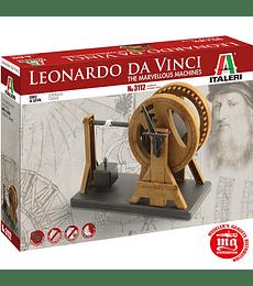 Leonardo Da Vinci's: LEVERAGE CRANE