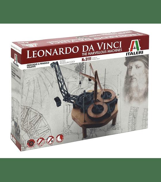 Leonardo Da Vinci's: PENDULUM CLOCK