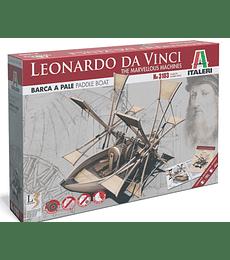 Leonardo Da Vinci's: PADDLE BOAT