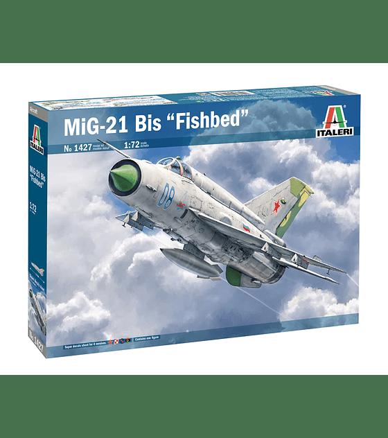 """ITALERI MIG-21 Bis  """"FISHBED"""""""