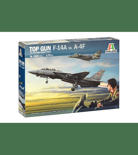 """ITALERI """"Top Gun"""" F-14A vs A-4F"""