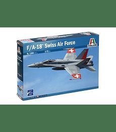 ITALERI F/A-18 HORNET SWISS AIR FORCES